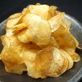 料理メニュー写真自家製ポテトチップス 海老蟹塩