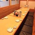 団体利用にもおすすめなテーブル席♪和情緒溢れる優雅席は、県庁前駅での接待や歓送迎会、二次会や新年会など、様々なシーンに最適◎団体もご案内も可能となっておりますので、お気軽にお問い合わせください♪
