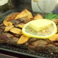 料理メニュー写真ビッグロースステーキ(300g)