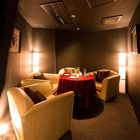 全席ソファー完全個室。宴会や女子会、誕生日・記念日にも◎カップルシートも☆
