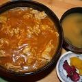 料理メニュー写真蕎麦屋のカレー丼