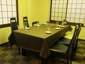 座敷テーブル個室