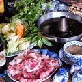 料理メニュー写真≪ハーブ10種以上使用の特製タレ!≫豚しゃぶ