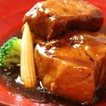 料理メニュー写真【黒豚の角煮】