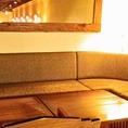 8名掛けソファー席