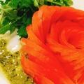 料理メニュー写真トマトとルコラのサラダ