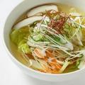 料理メニュー写真具だくさん野菜スープ