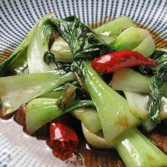 青菜の強火炒め