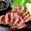 料理メニュー写真【やわらかい厚切り】黒毛和牛の牛タンステーキ