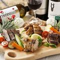 料理メニュー写真◆ 3種のシュラスコの盛り合わせ ◆
