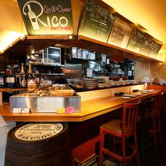 Grill&Oyster Rico リコ 牡蠣と魚の写真