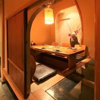 おしゃれで落ち着いた雰囲気の個室がある栄の和食居酒屋