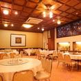 会社宴会や各種宴会に利用しやすい♪10名様~100名様までの宴会が可能です。