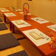6名様までのお座敷席です[岡山/岡山市/北海道産/ウニ/蟹/魚/イクラ/宴会/刺身/野菜/個室/海老]