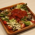 料理メニュー写真タコスサラダ