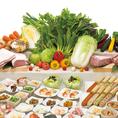 選べる食べ放題は最大78種類♪
