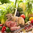 食べ放題でも素材はどれも新鮮!生鮮野菜・お肉・海鮮の卸問屋も展開する当店だからできる!美味しいものをリーズナブル楽しめるのがうれしいです!