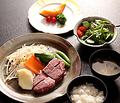 料理メニュー写真特選牛ヒレ肉のステーキ