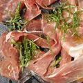 料理メニュー写真イタリア産生ハム