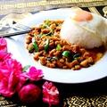 料理メニュー写真ムーガパオ (豚肉バジル炒めご飯)