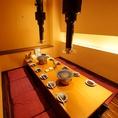 気軽なテーブル席も各種ご用意しています!デートやプライベートな飲み会にも最適!