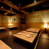 大宴会もお任せください!最大70名様の同時着席宴会が可能と成っております。岐阜で会社宴会をしたい方々、ぜひ「いごこち」をご利用ください♪