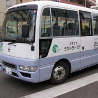 団体様向け無料送迎バスあります