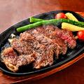 料理メニュー写真国産牛のビーフステーキ(150g~)