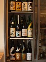 日本酒は常時30種以上☆