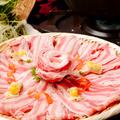 料理メニュー写真さつま武蔵直伝 黒豚しゃぶしゃぶ ※二人前からの注文となります。