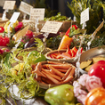 野菜の鮮度や産地にもこだわっております。新鮮なお野菜をお召し上がりください。
