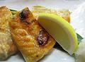 料理メニュー写真えいひれ/鮭はらす焼き/炙り柔らかあたりめ