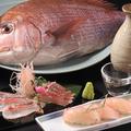 料理メニュー写真【日本海・桜鯛】お造り・握り寿司etc...