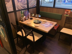 3~5名様のテーブル半個室席です!!
