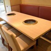 肉菜工房 うしすけ お台場デックス東京ビーチ店の雰囲気2