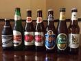 ビールは様々な種類をそろえております!お気にいりを見つけるのも楽しみの一つ★