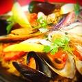 料理メニュー写真豪華海鮮 魚介のパエージャ