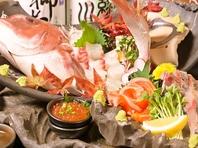 新鮮な魚介を日々買い付け、鮮度そのままにご提供!!