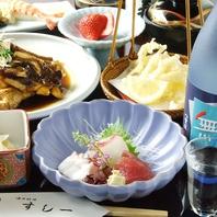 会席料理でお寿司以外も様々楽しめる