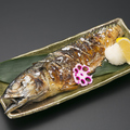料理メニュー写真【梵天自慢】近海サバの藻塩焼き