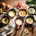 料理メニュー写真選べるフォンデュセット