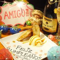 ◆お誕生日に!デザートプレート◆