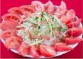 料理メニュー写真トマトサラダ Tomato Salad