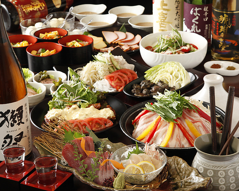 絶品の宮崎霧島赤地鶏料理をご堪能下さい♪2.5H飲放付コースのご用意もございます!