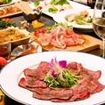 【女子会】ローストビーフコース(全7品)3500円~♪お野菜ビュッフェが付いた女子会にピッタリな女性限定のコースをご用意しました!10名様以上でご用意できる個室もございます。お早めにご予約下さい。