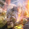 料理メニュー写真地鶏炭火焼き
