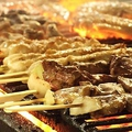 料理メニュー写真お肉の串各種