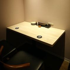 【2階・カップル個室B】横並びで座れる完全個室(2名様)