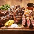 料理メニュー写真TOKYO X・門崎熟成肉の2種盛り合わせ
