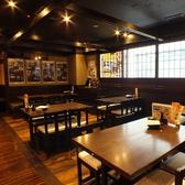 席と席との間隔を広めにとっておりますので、快適に宴会を楽しめます!宴会にピッタリの季節厳選食材を使用した飲み放題付きコースは3500円~ご用意しております!